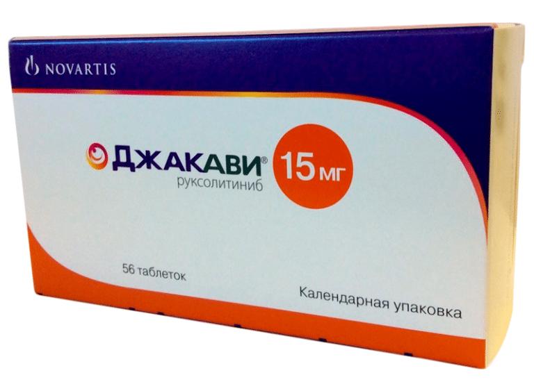 Джакави (руксолитиниб) потенциально может способствовать быстрому выздоровлению пациентов с COVID-19