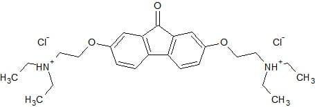 Структурная формула Тилорона C25H34N2O3