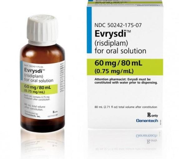 Одобрено применение препарата рисдиплам (Эврисди®) для лечения спинальной мышечной атрофии (СМА)