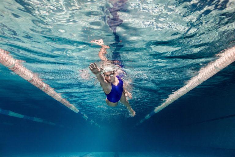 Плавание укрепляет здоровье и способствует ясному мышлению